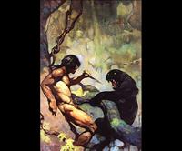 Frank Frazetta-Black Panther